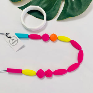 Bayside Jewellery - The Bright-on Necklace and Bangle Set - Baysideluxe