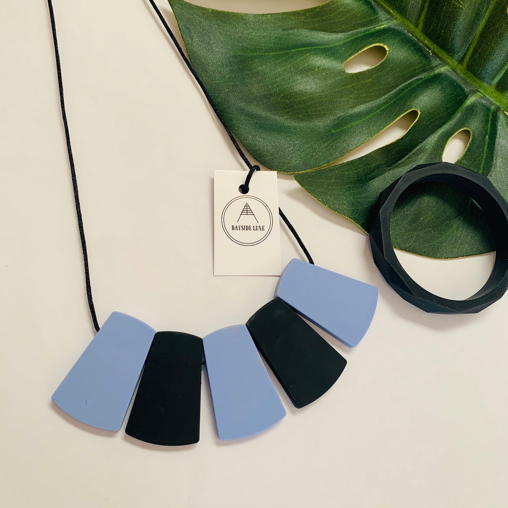 Bayside Jewellery - The Port Melbourne Necklace and Bangle Set - Baysideluxe