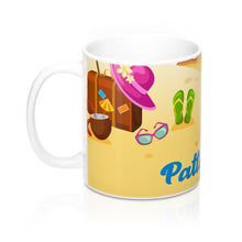 Load image into Gallery viewer, Beach Mug - Beach Cup - Personalized Cup | 5g Designs - 5g Designs