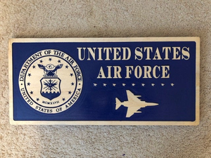 Personalized Military Plaque - Military Gift | 5g Designs - 5g Designs