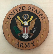 Load image into Gallery viewer, Personalized Military Plaque - Military Gift | 5g Designs - 5g Designs