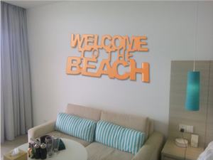 Outdoor Beach Sign -  Indoor Beach Sign - Beach House Sign | 5g Designs - 5g Designs