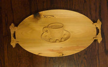 Load image into Gallery viewer, Wood Serving Tray - Coffee Table Tray | 5g Designs - 5g Designs