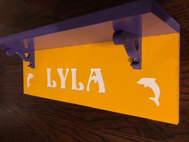 Kids Shelf - Personalized Name Shelf | 5g Designs - 5g Designs