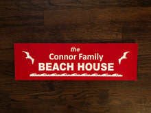 Load image into Gallery viewer, Personalized Beach House Sign - Custom Pool Signs | 5g Designs - 5g Designs