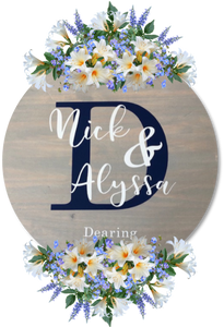Wedding Guest Book -  Personalized Guest Book - Wedding Sign | 5g Designs - 5g Designs