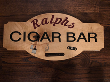 Load image into Gallery viewer, Cigar Lounge Sign -  Cigar Bar Sign - Personalized Cigar Sign | 5g Designs - 5g Designs