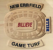 Load image into Gallery viewer, Buffalo Bills Turf - New Era Field Turf - Bills Custom Plaque | 5g Designs - 5g Designs