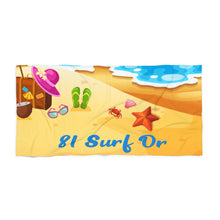 Load image into Gallery viewer, Beach Towel - Personalized Beach Towel - Monogram Beach Towel | 5g Designs - 5g Designs