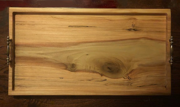 Wood Serving Tray - Coffee Table Tray | 5g Designs - 5g Designs
