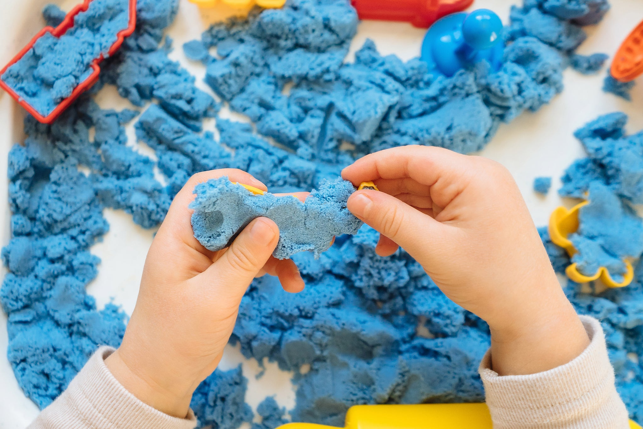 Kinetic Sand For Early Development