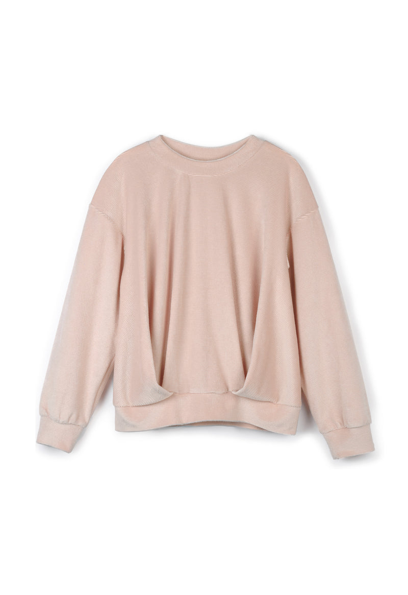 Pink Velour Sweater