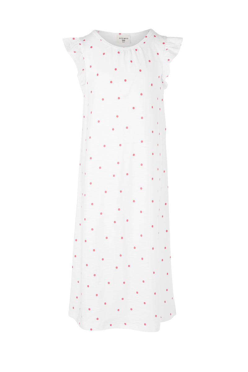 Polka Dot Sleep Dress