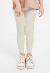 Gen Woo Girls White Legging for The Jersey Shop Singapore