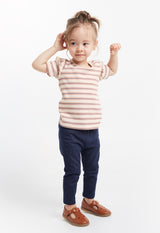 Gen Woo Baby Girl Striped T-Shirt for The Jersey Shop Singapore