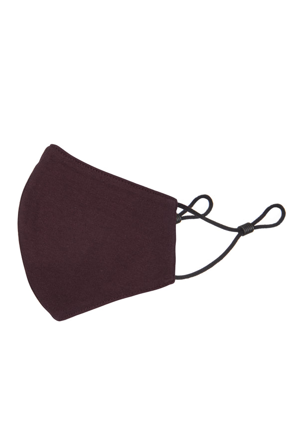 Gen Woo Aubergine Adult Reusable Mask for The Jersey Shop Singapore