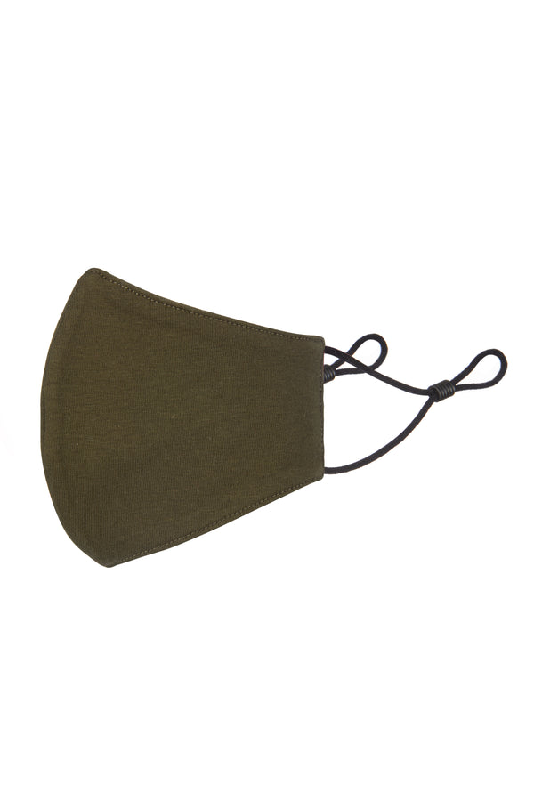 Gen Woo Khaki Adult Reusable Mask for The Jersey Shop Singapore