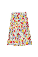 Shop for Gen Woo Floral Print Tiered Skirt from The Jersey Shop Singapore