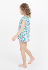 Gen Woo Nightwear Animal Print PJ Set for Sizes 2 years to 14 years for The Jersey Shop Singapore