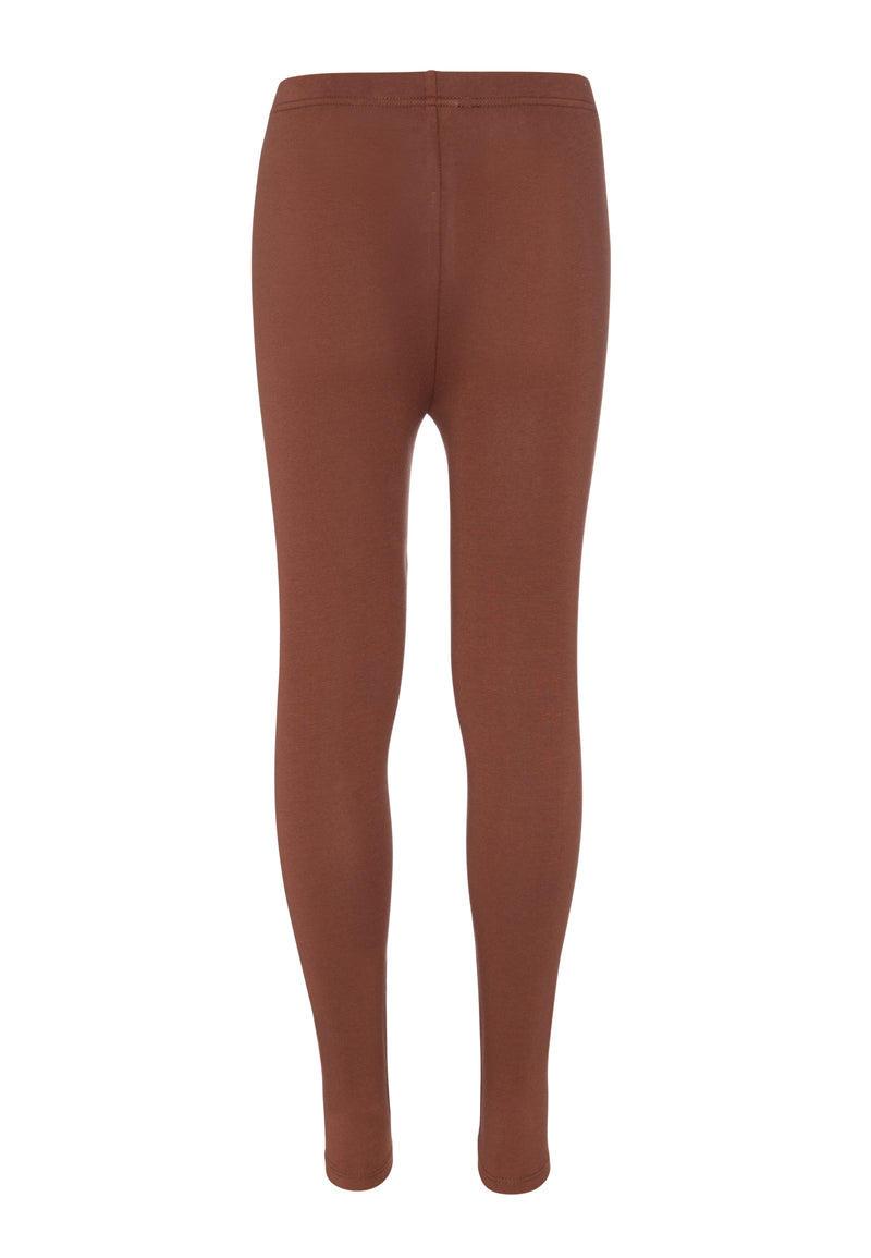 Shop for Tween Girls Brown Basic Legging from The Jersey Shop Singapore