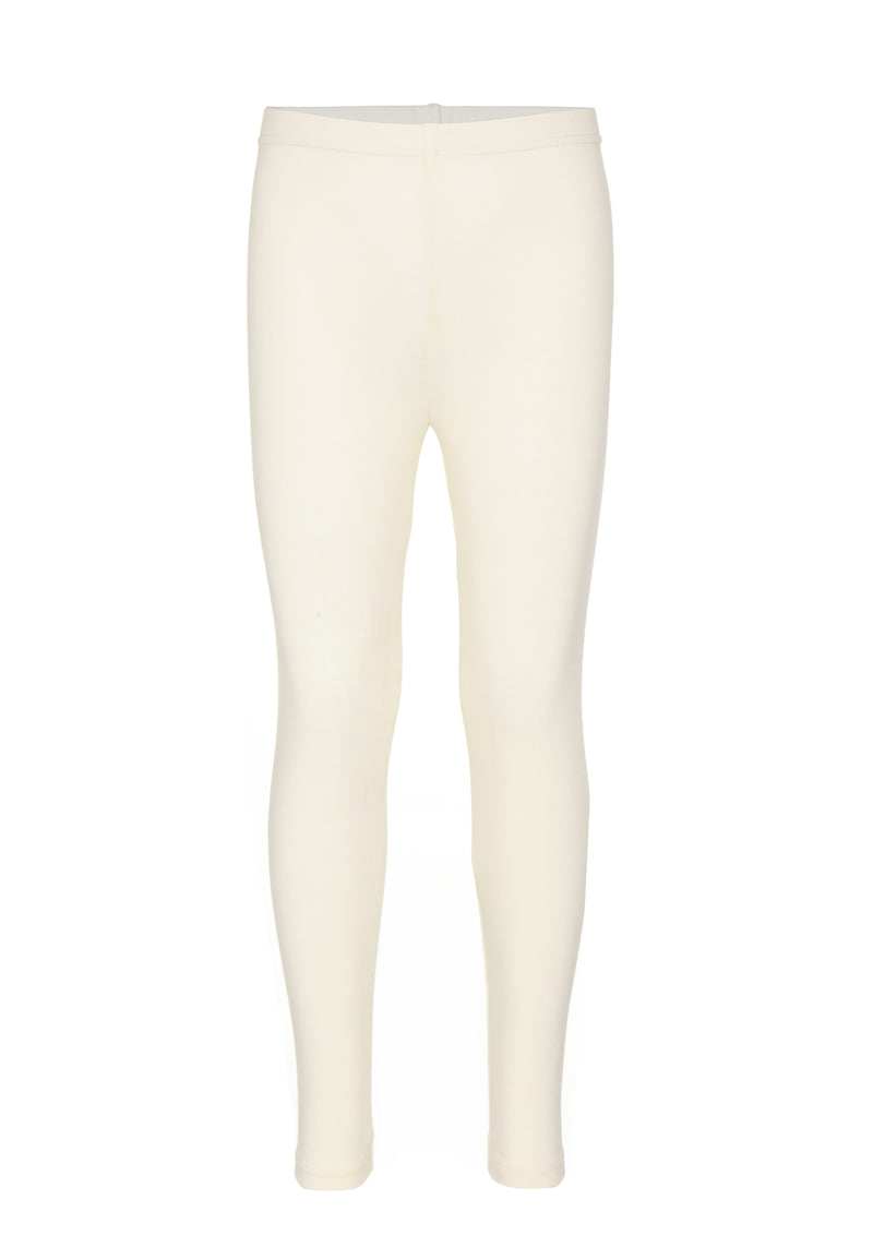 Gen Woo Girls Winter White Basic Legging Fits Sizes 2 Years to 8 Years for The Jersey Shop Singapore