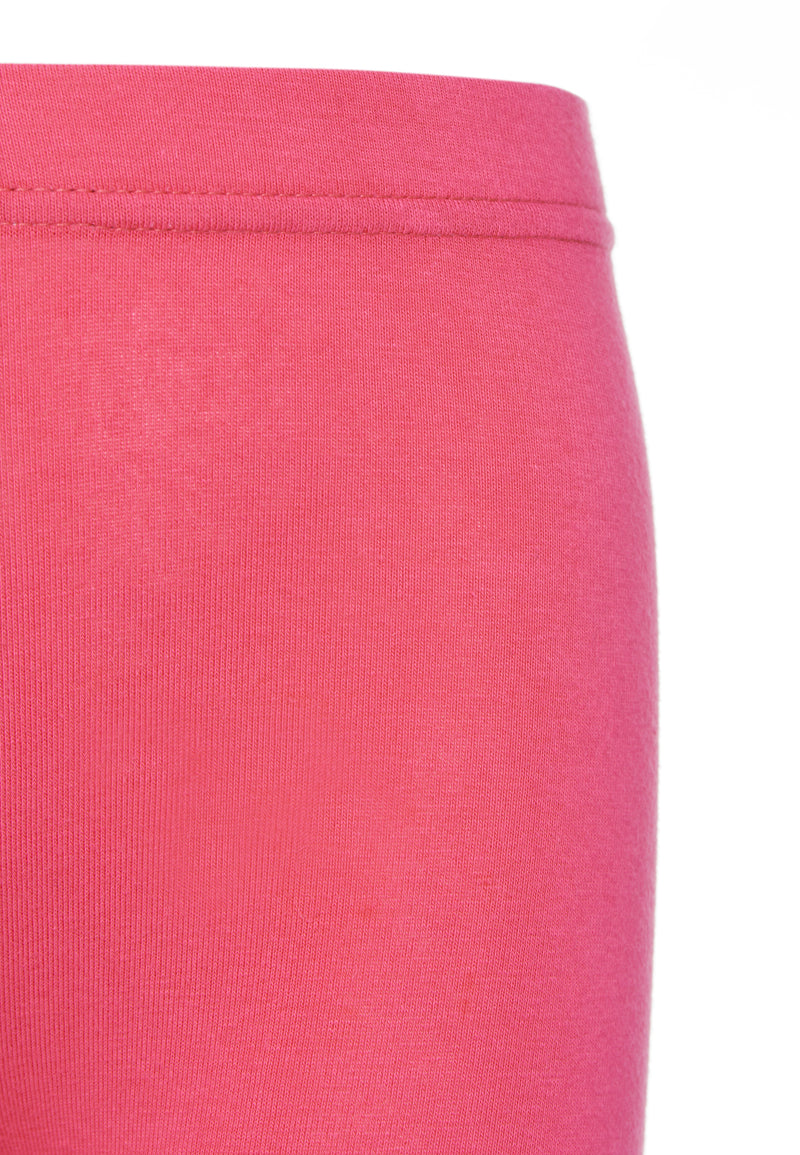 Gen Woo Girls Hot Pink Plain Legging for The Jersey Shop Singapore