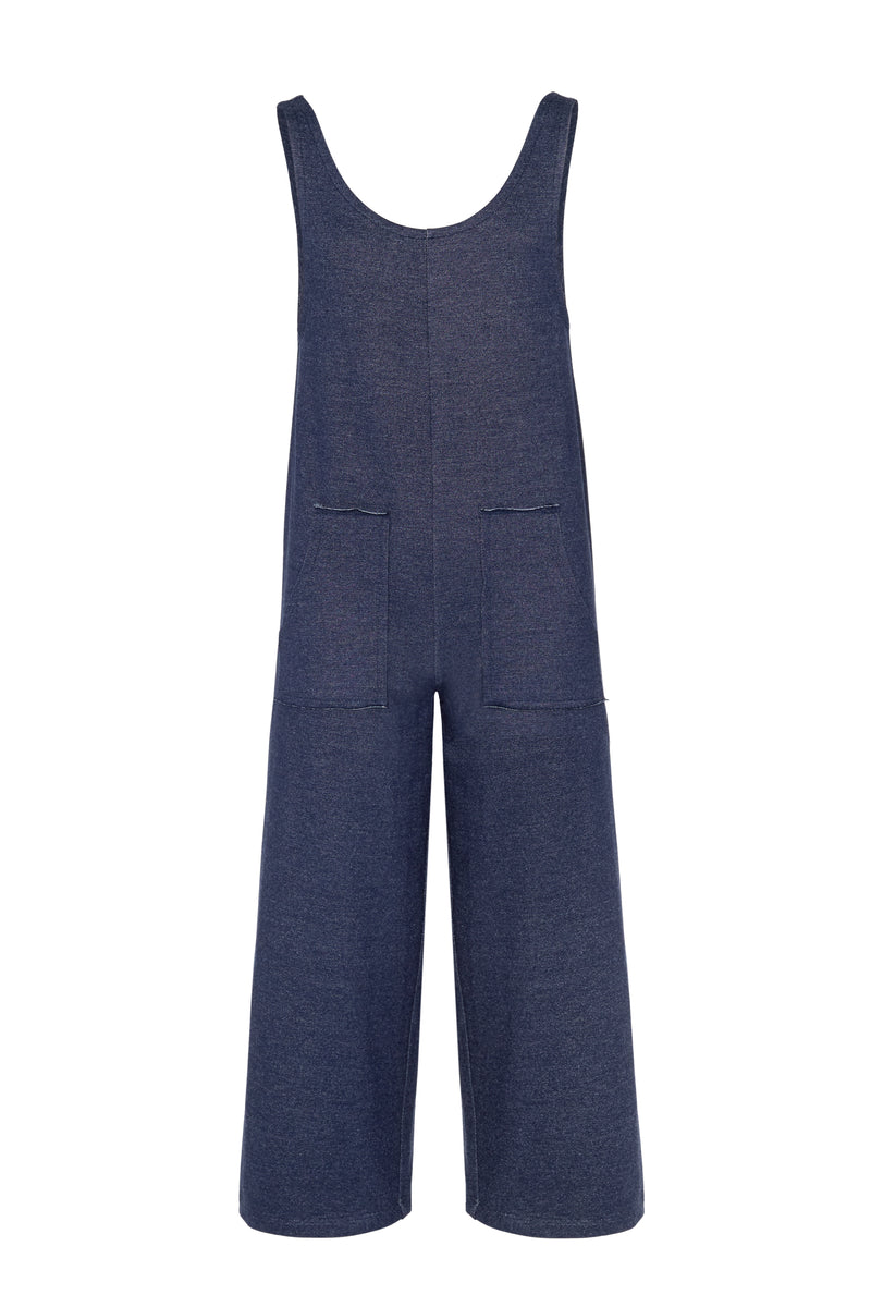 Gen Woo Tween Girls Denim Sleeveless Jumpsuit Fits Sizes 8 Years to 14 Years for The Jersey Shop Singapore