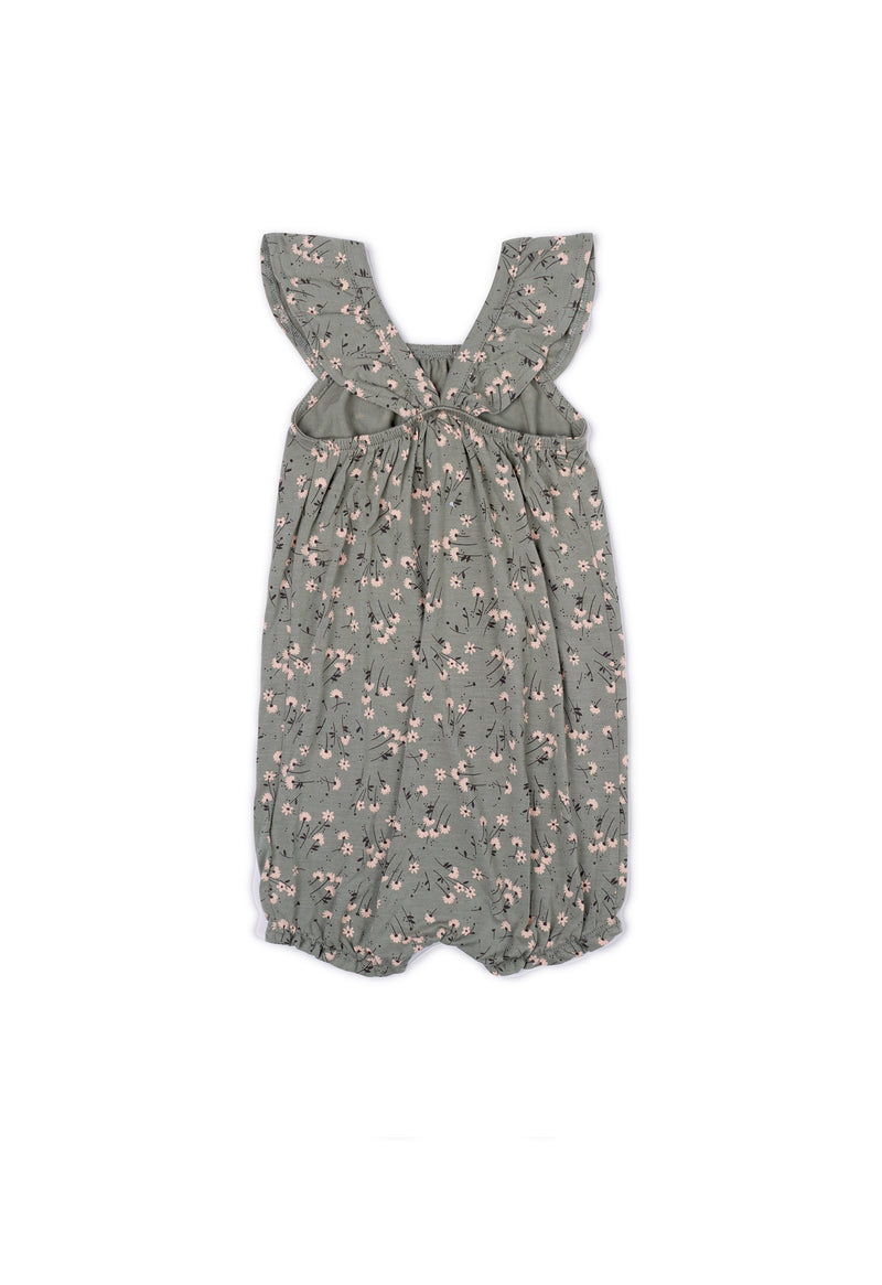 Shop for Gen Woo Baby Girl Ditsy Romper for The Jersey Shop Singapore