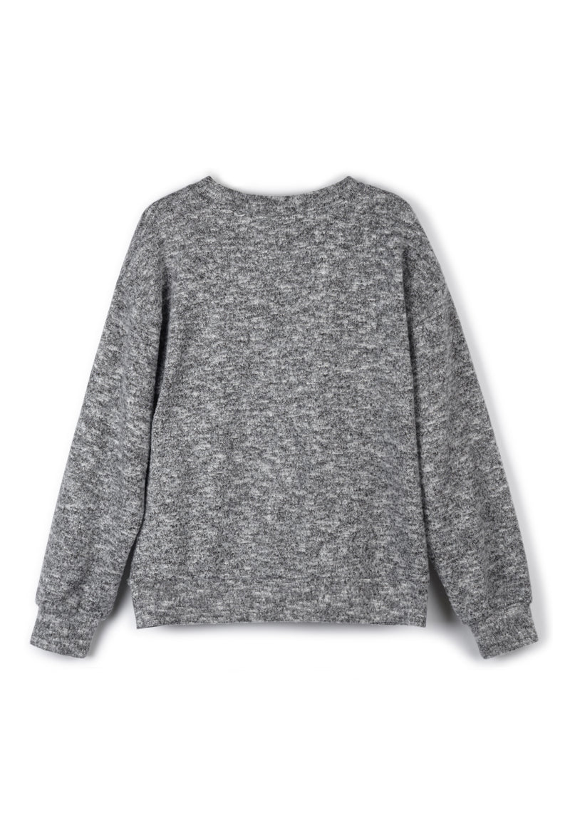 Grey Marl Sweater
