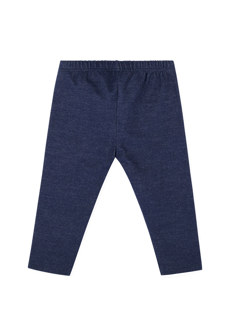 Gen Woo Baby Girl Denim Jeggings for Sizes 0 Months to 36 Months for The Jersey Shop Singapore