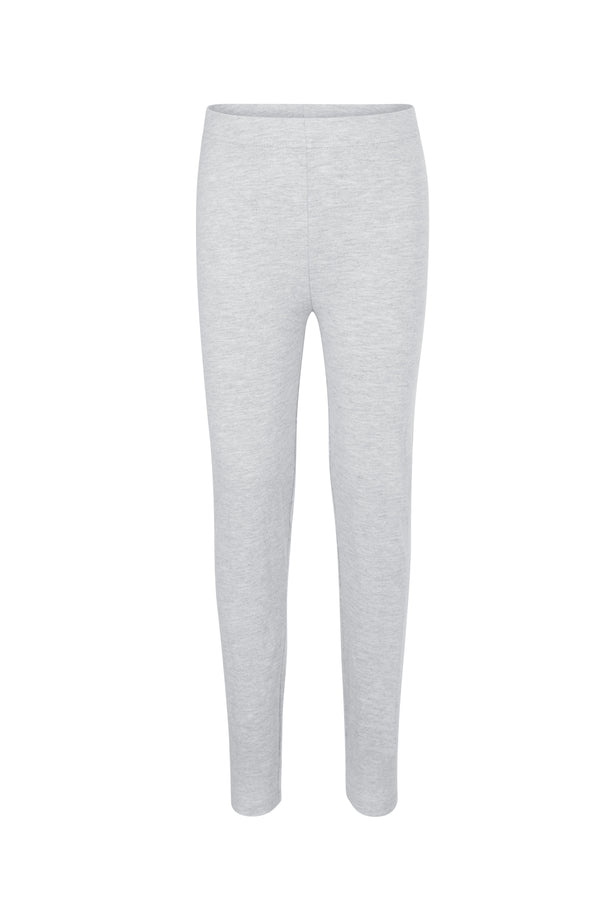 Gen Woo Girls Grey Marl Basic Leggings for The Jersey Shop Singapore
