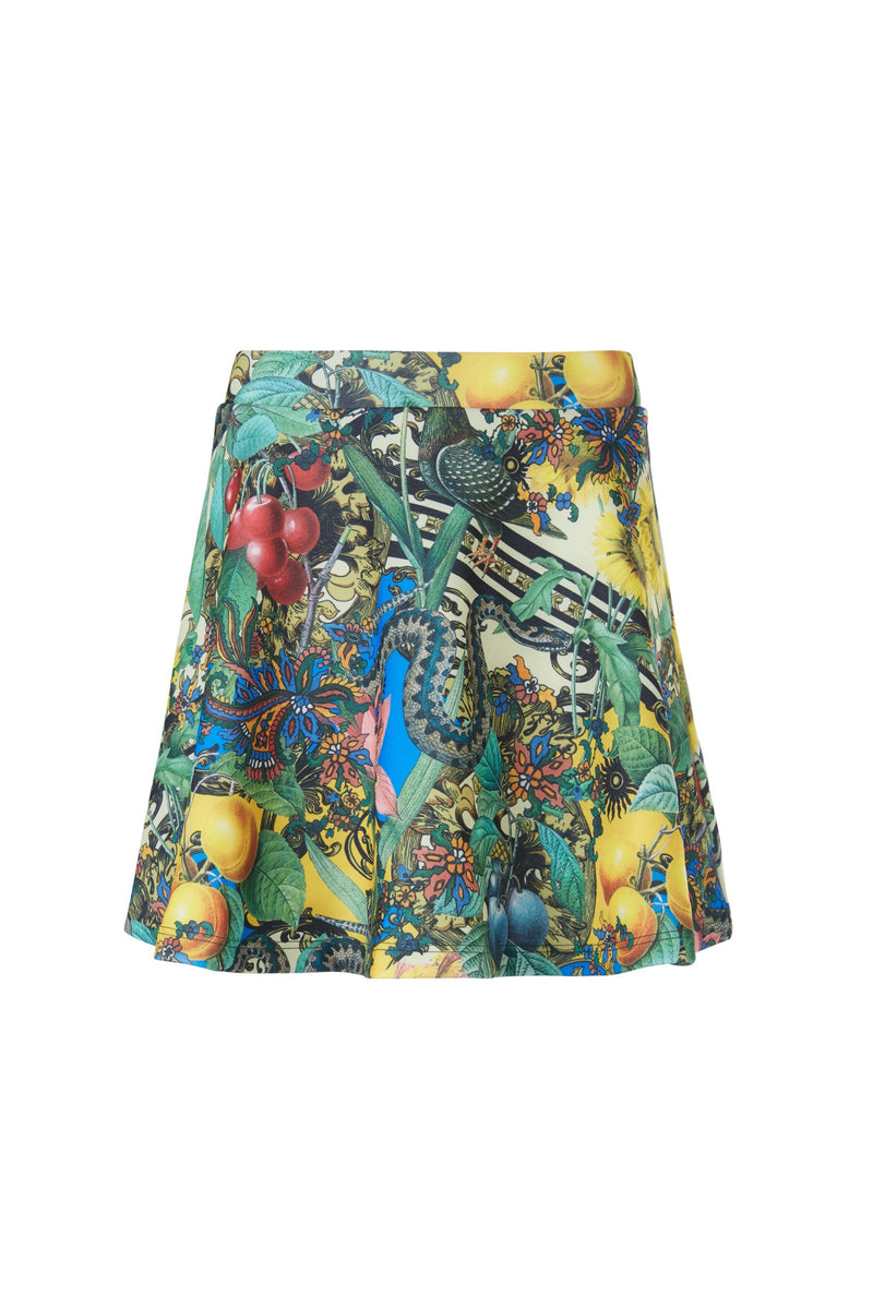 Gen Woo Tween Girls Printed Skater Skirt from The Jersey Shop Singapore
