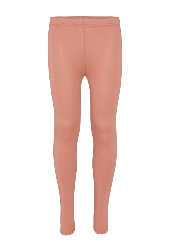 Gen Woo Tween Girls Light Mahogany Basic Legging from The Jersey Shop Singapore