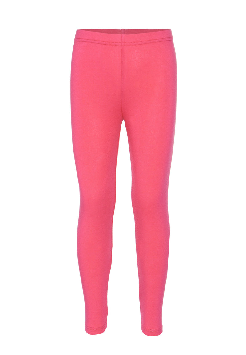 Gen Woo Girls Hot Pink Basic Legging for The Jersey Shop Singapore