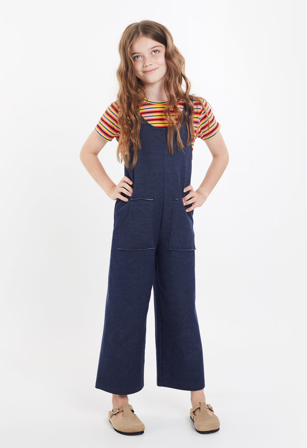 Gen Woo Tween Girls Denim Jumpsuit for The Jersey Shop Singapore