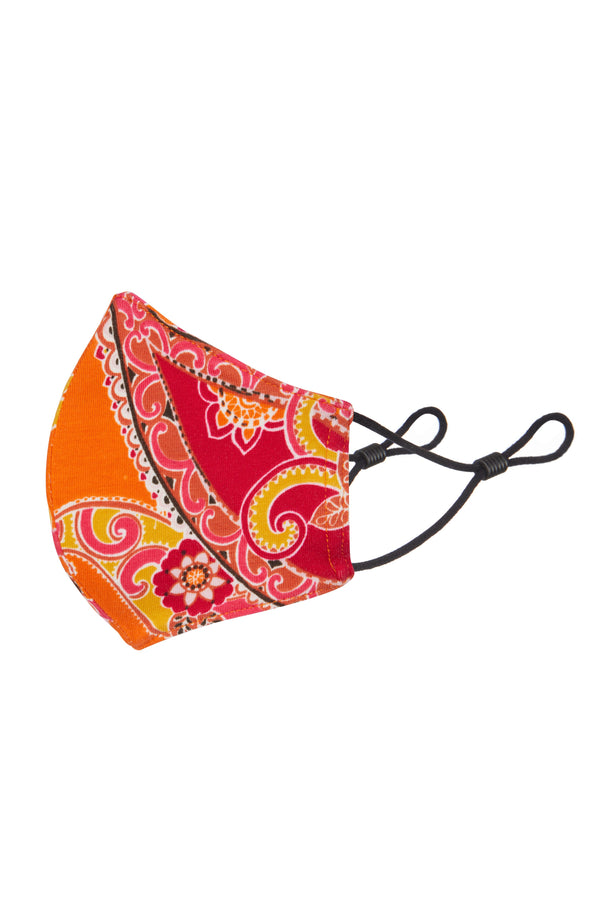 Gen Woo Paisley Print Child Mask for The Jersey Shop Singapore