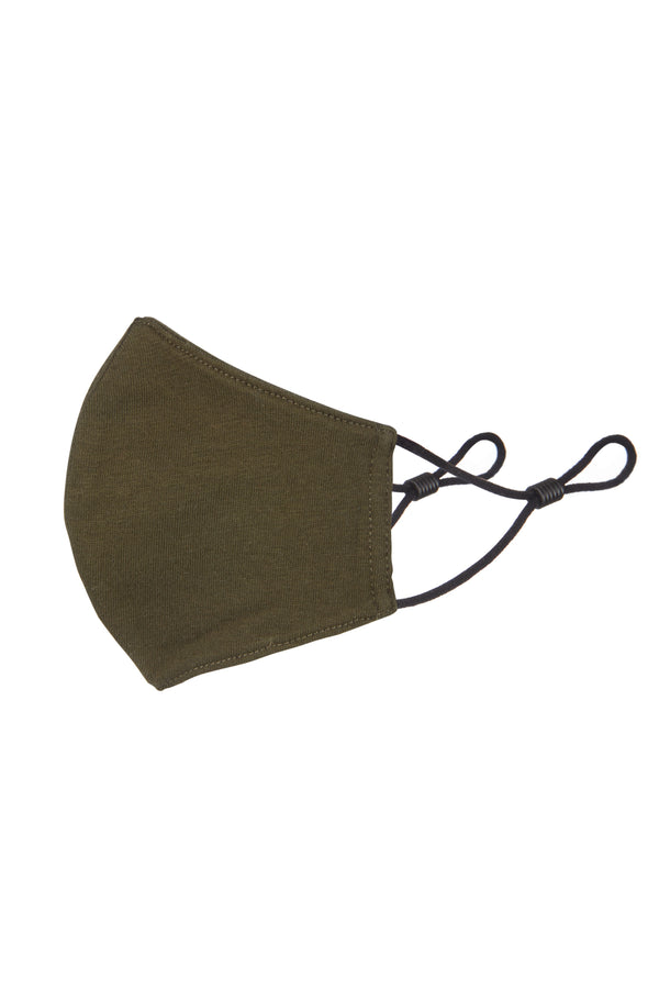 Gen Woo Khaki Child Mask for The Jersey Shop Singapore