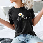 The Believer Flower Print Casual Top