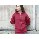 Kreamy Couture Signature Zipper Jacket with Hoodie