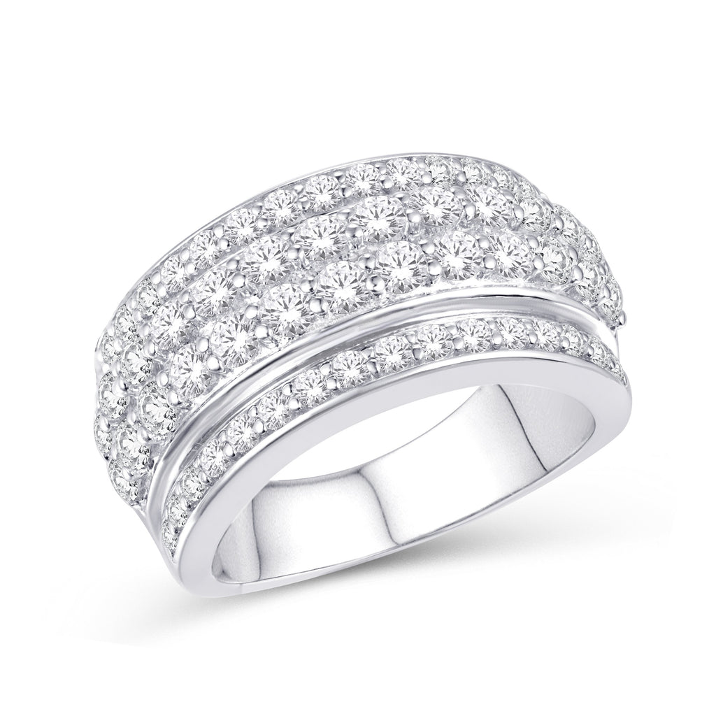 10KT-1.95CTW LADIESBAND - White Carat Diamonds