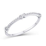 10KT-0.07CTW LADIESBAND - White Carat Diamonds