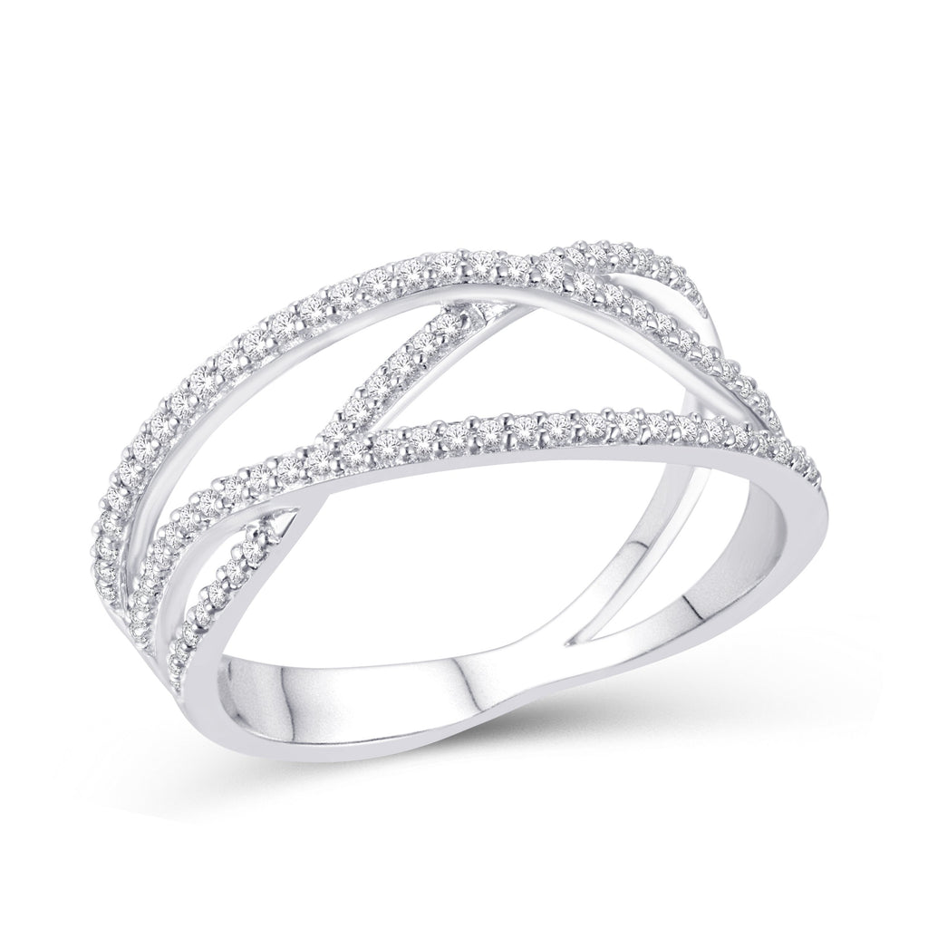 10KT-0.27CTW LADIESBAND - White Carat Diamonds