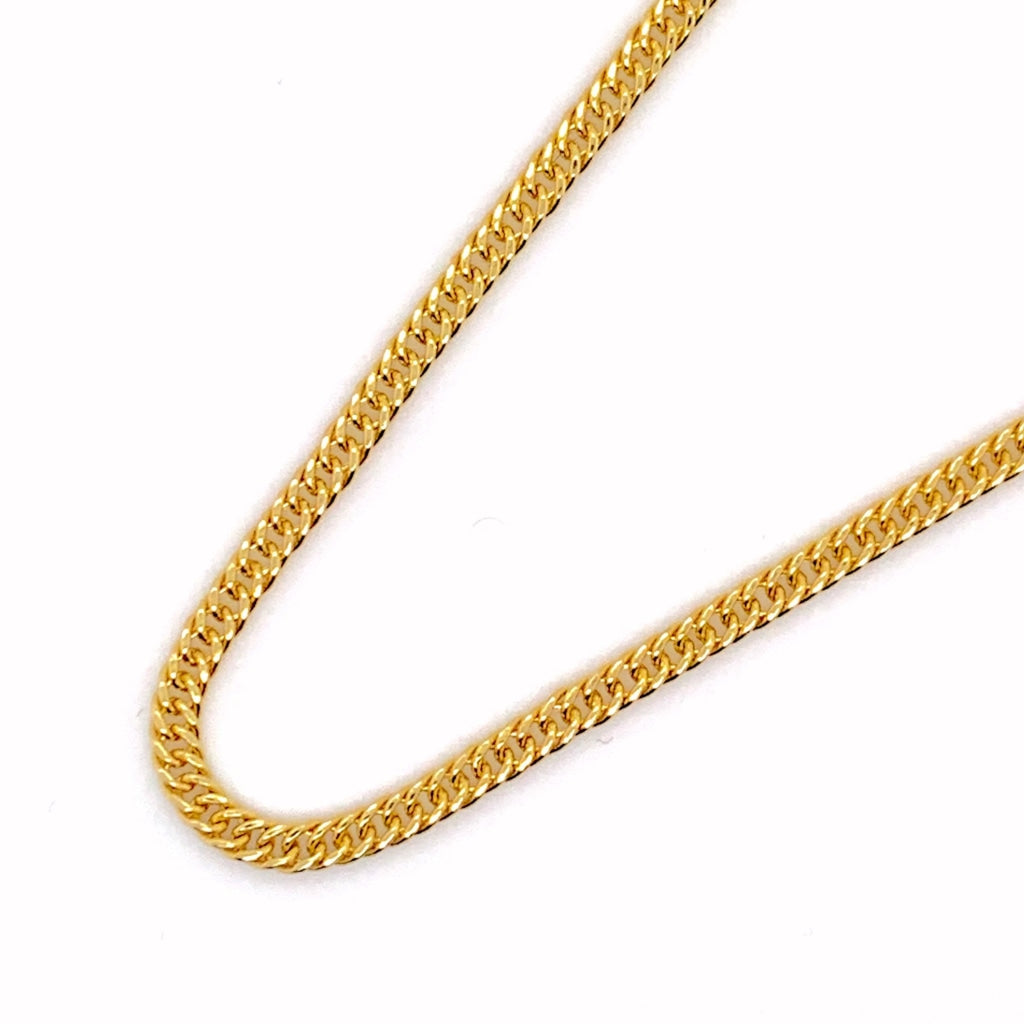 10K Gold Cuban Chain - 2.50MM - White Carat Diamonds