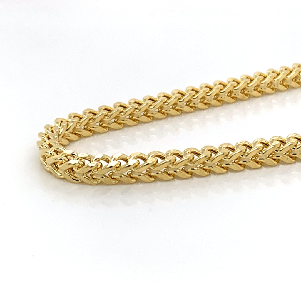 10K Gold Franco Chain (Regular) - 3mm - White Carat Diamonds