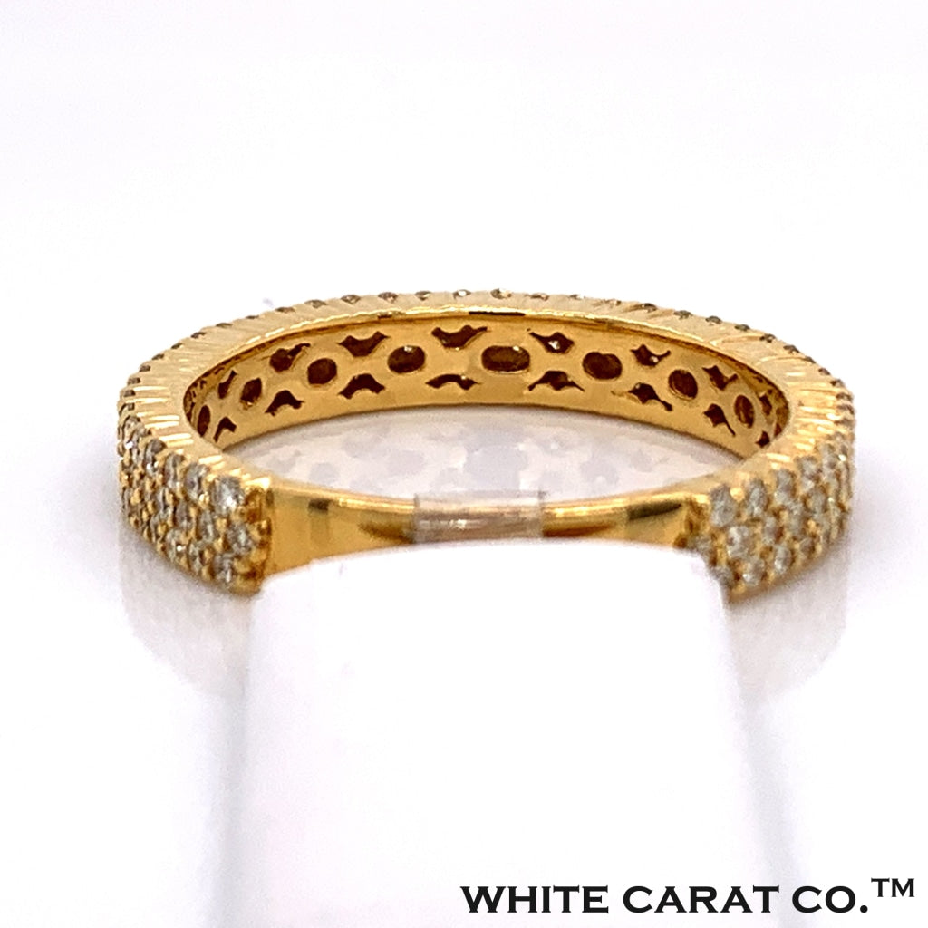 1.30 CT. Diamond Ring in 10K Gold - White Carat Diamonds