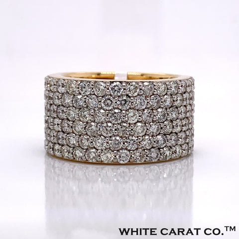 5.00 CT. Diamond Ring in 10K Gold - White Carat Diamonds