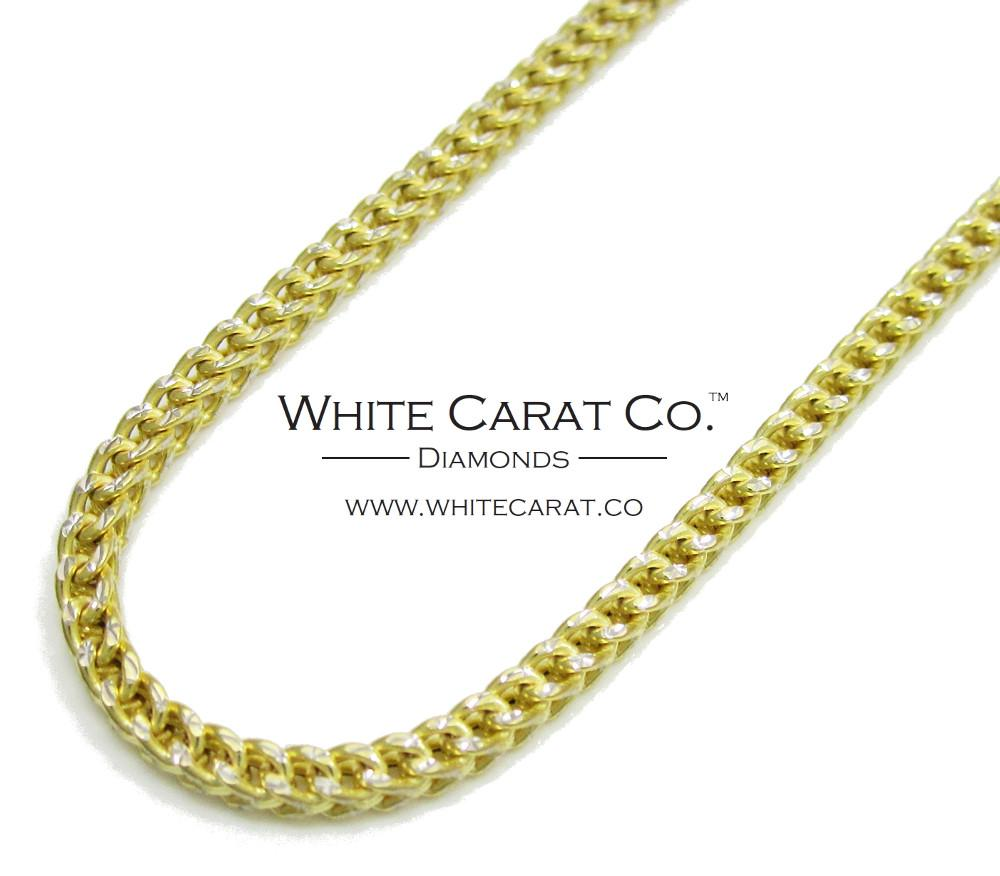 Copy of 10K Gold SECOND PARTIAL PAYMENT  w/ Diamond Cuts - 3.5 mm - White Carat Diamonds