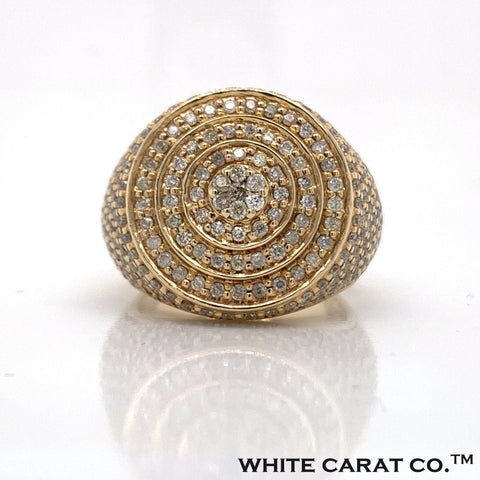 3.00 CT. Diamond 14K Gold Ring - White Carat Diamonds