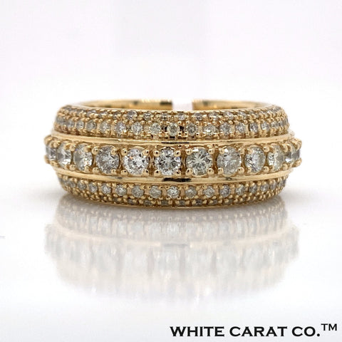 3.00 CT. Diamond 10KT Gold Ring - White Carat Diamonds