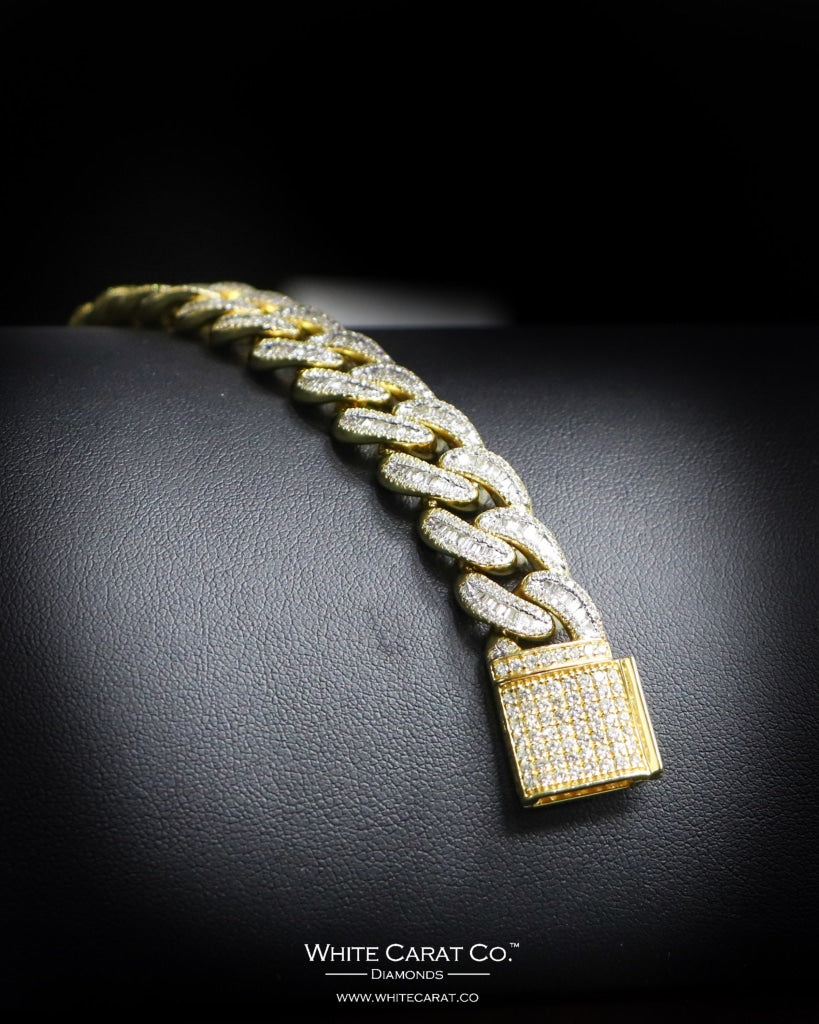 6.55 CT. Ladies' Diamond Bracelet in 10K Gold